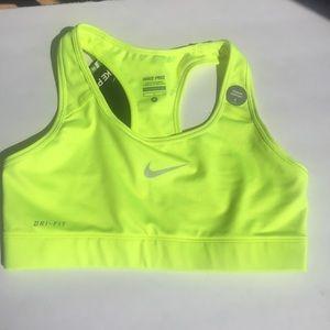 [Nike] sports bra dri fit new tags run workout S